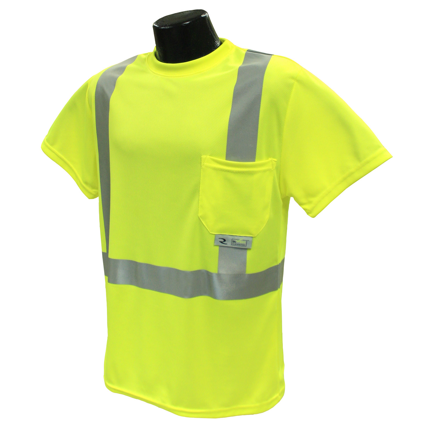 Radians ST11 Class 2 High Visibility Safety T-Shirt with Max-Dri™