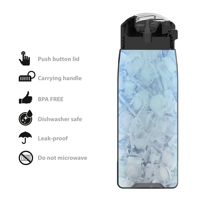 Genesis 32 ounce Water Bottles, Lilac slideshow image 10