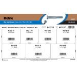 Class 10.9 Metric Hex Cap Screws Assortment (M12-1.75 Thread)
