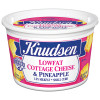 Knudsen Low Fat Cottage Cheese & Pineapple 16 oz Tub