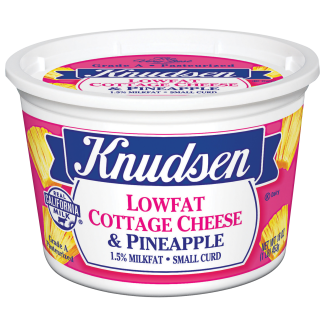 Small Curd - Cottage Cheese & Pineapple - 1.5% Milkfat
