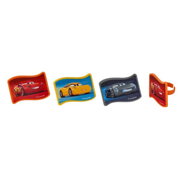 Cars 3 Nex-Gen Racers Cupcake Rings