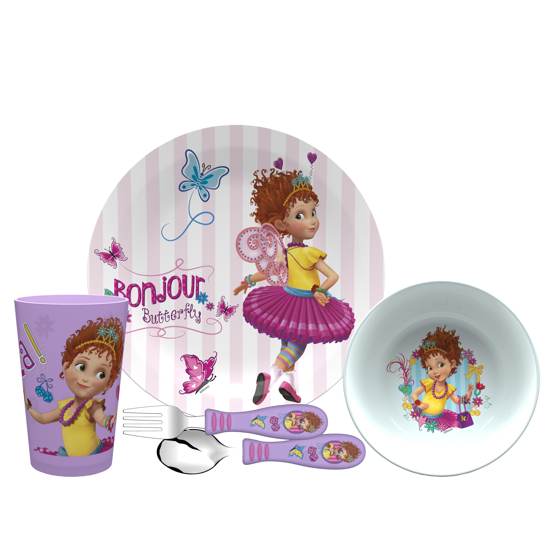 Disney Jr. Dinnerware Set, Fancy Nancy, 5-piece set slideshow image 2