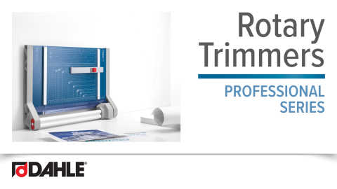 Dahle Professional Rotary Trimmer Series Video