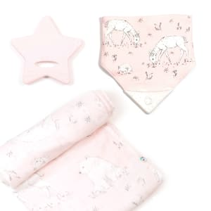 Bulle - 3-Piece Gift Set for Babies Head in the Stars
