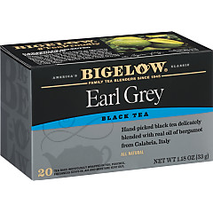 Earl Grey Tea - Case of 6 boxes - total of 120 teabags