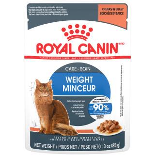 SOIN MINCEUR bouchées tranches en sauce – nourriture sachet pour chats