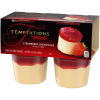 Jell-O Temptations Ready to Eat Strawberry Cheesecake Pudding Cups, 14.1 oz Sleeve (4 Cups)