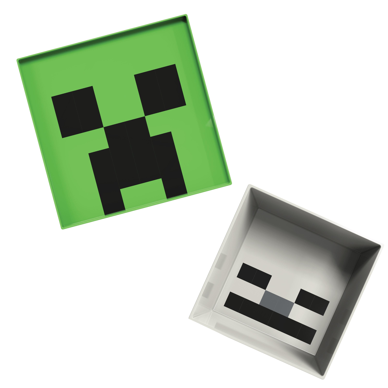 Minecraft Kids Dinnerware Set, Creeper and Ghost, 4-piece set slideshow image 7