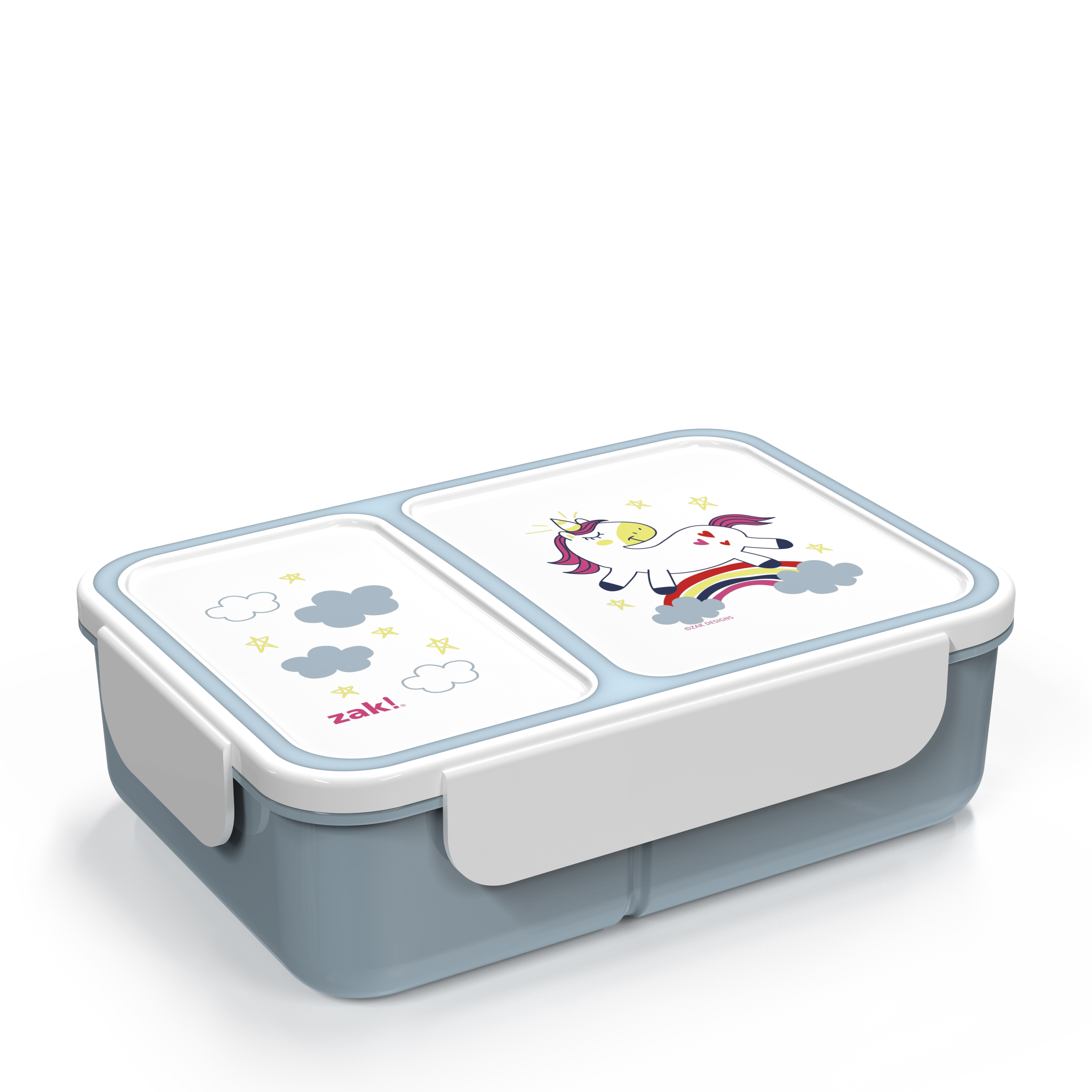 Happy Things Dual-compartment Reusable Bento Box, Unicorns slideshow image 2