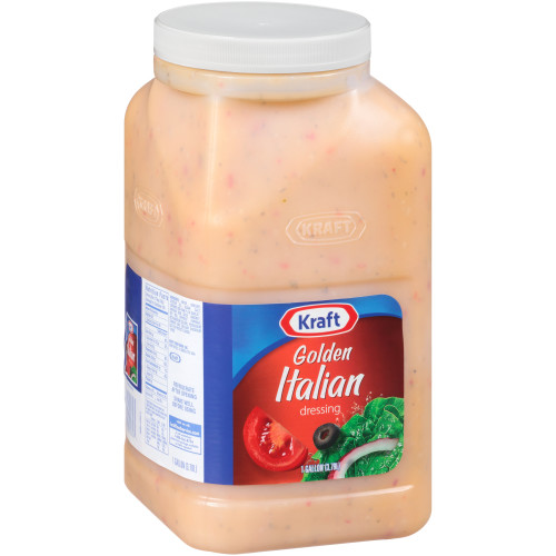 KRAFT Golden Italian Salad Dressing, 1 gal. Jugs (Pack of 4)