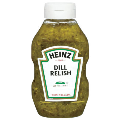 Heinz Dill Relish, 26 fl oz Bottle