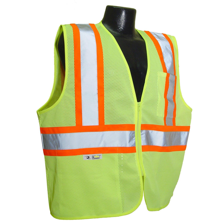 Radians SV225 Class 2 Self Extinguishing Two-Tone Trim Safety Vest