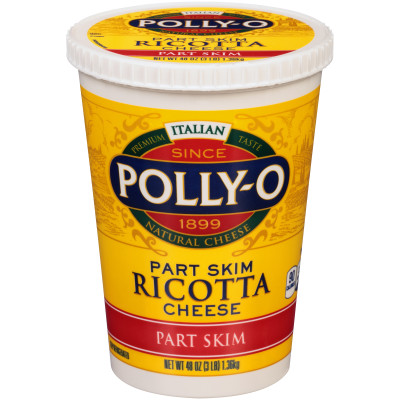 Polly-O Part Skim Ricotta Cheese 48 oz Tub