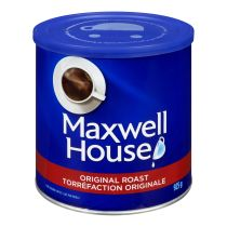 Café moulu de torréfaction originale Maxwell House