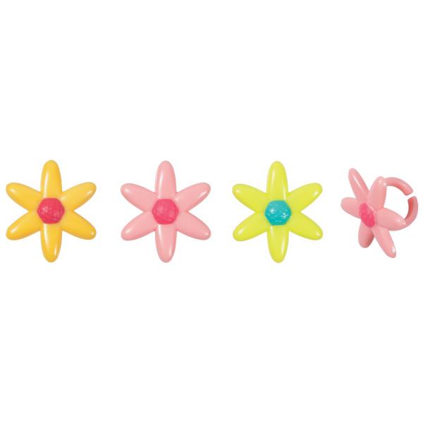 Spring Daisy Cupcake Rings