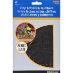 Die Cut Self Adhesive Letters & Numbers