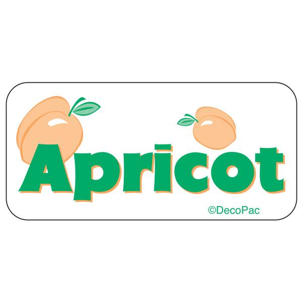 Apricot Label PhotoCake® Edible Image®