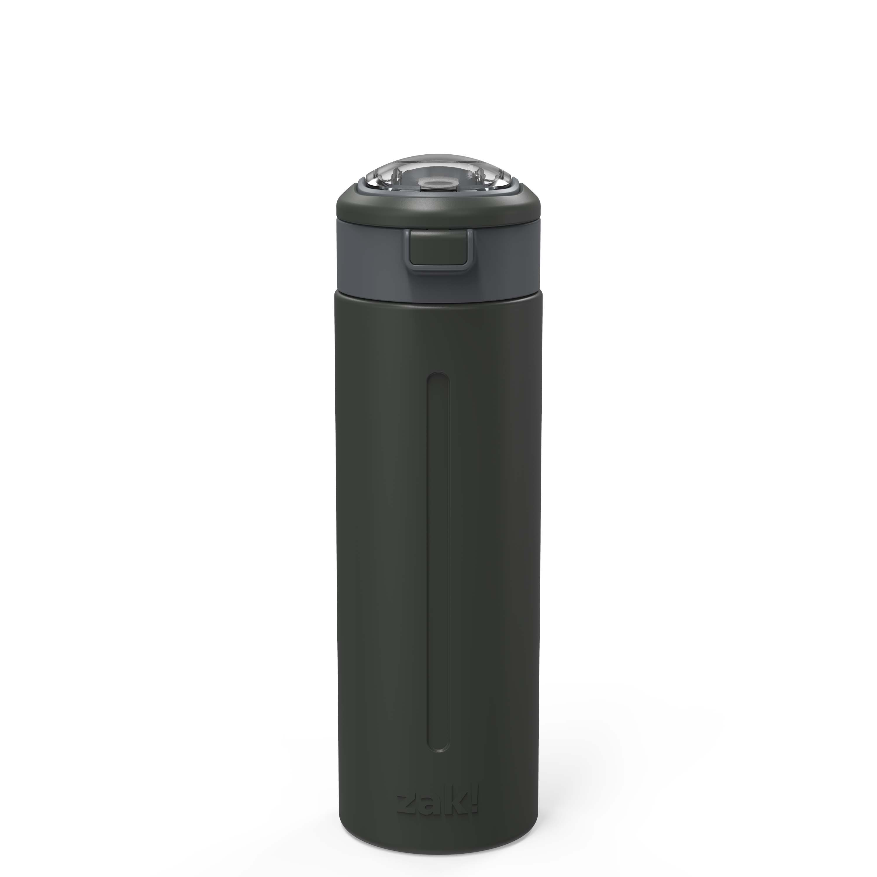 Genesis Vaccum Insulated Stainless Steel Water Bottle, Charcoal slideshow image 1