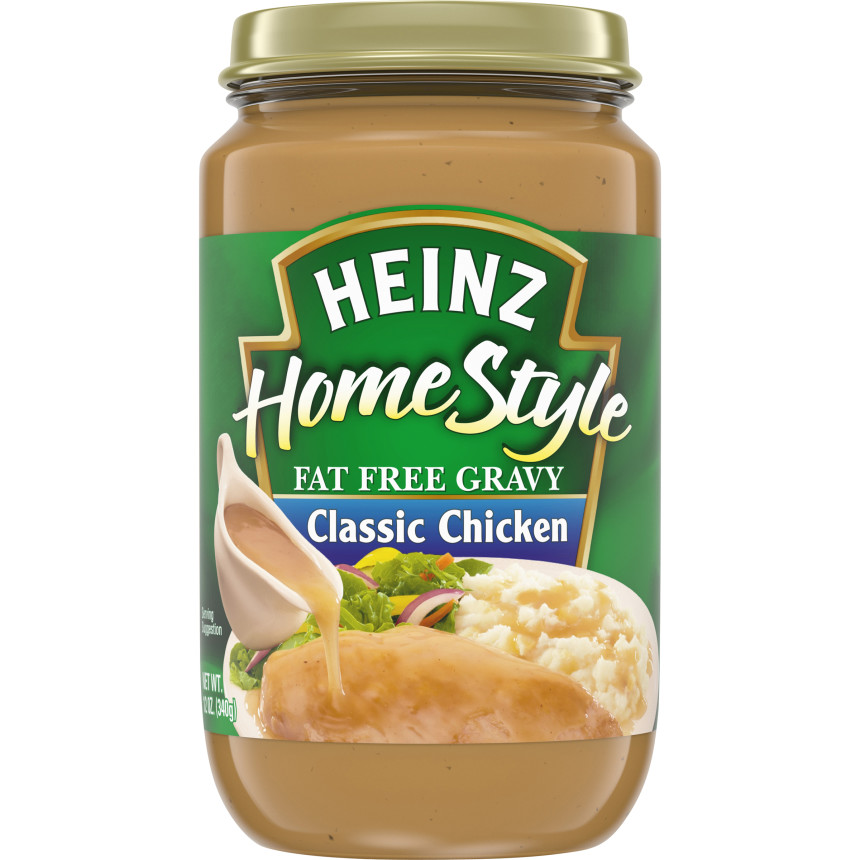Heinz Classic Chicken Fat-Free Gravy, 12 oz Jar image