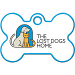Lost Dogs Home Large Bone Quick-Tag