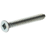 Zinc Flat Head Square Drive Sheet Metal Screws