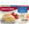 Smart Ones Tasty American Favorites Canadian Style Turkey Bacon English Muffin Sandwiches 2 - 4 oz Boxes