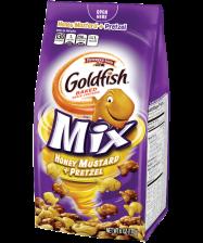 (6 ounces <strong>each</strong>) Pepperidge Farm® Goldfish® Honey Mustard + Pretzel Mix