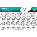 "Nitrile O-Ring Assortment (3/32"" & 1/8"" Width)"