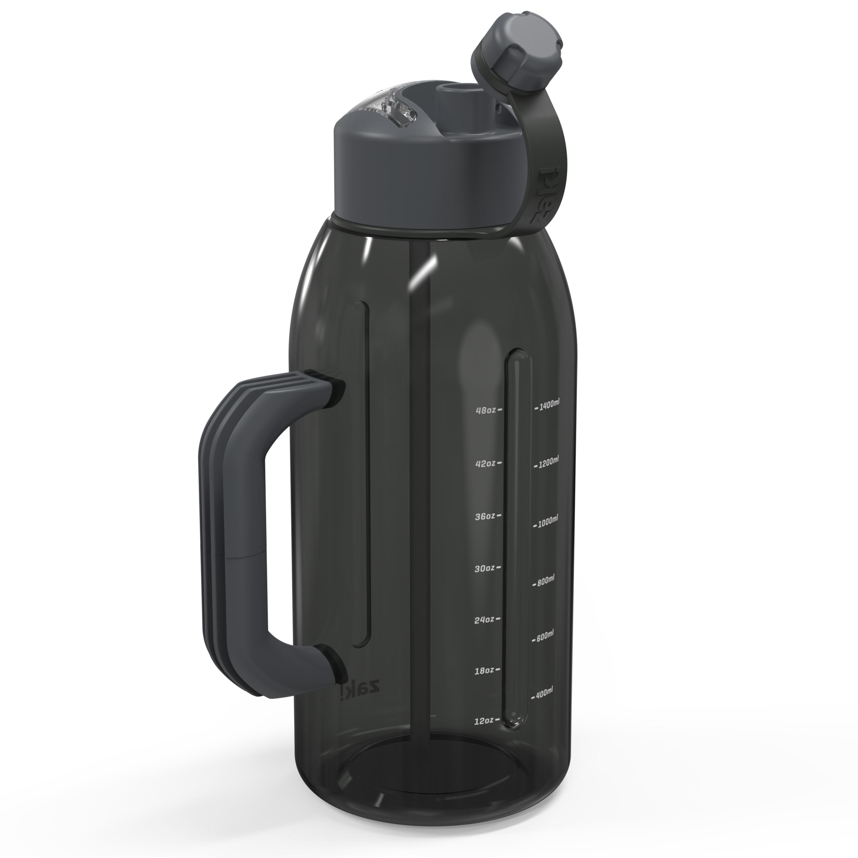 Genesis 64 ounce Water Bottle, Charcoal slideshow image 7