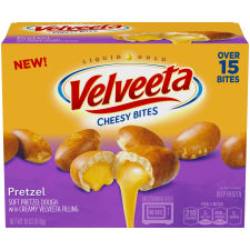 Velveeta Pretzel Cheesy Bites 18 oz Box