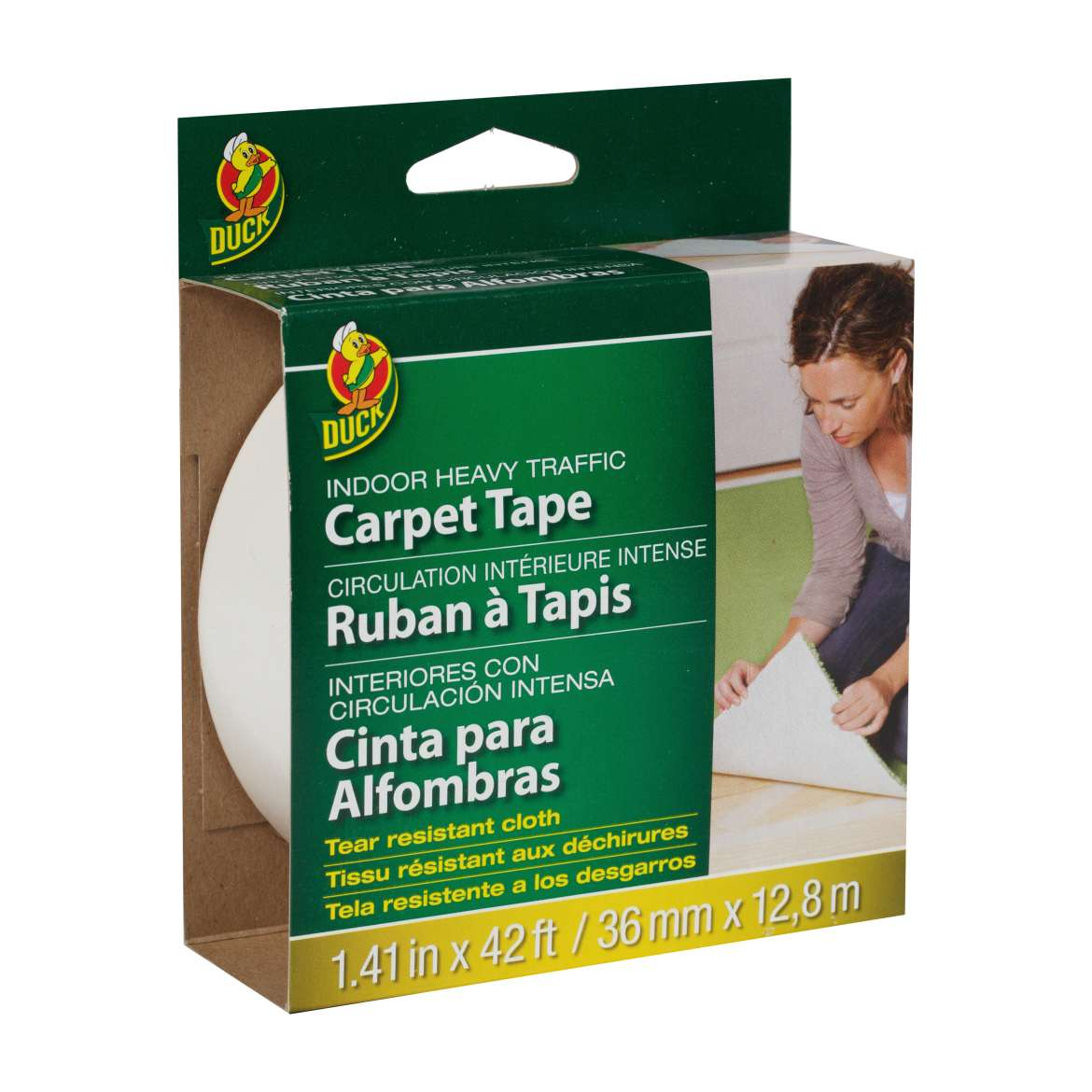 Heavy Traffic Carpet Tape Image