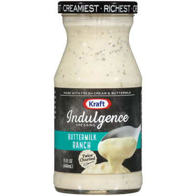Kraft Indulgence Buttermilk Ranch Dressing 15 fl oz Bottle