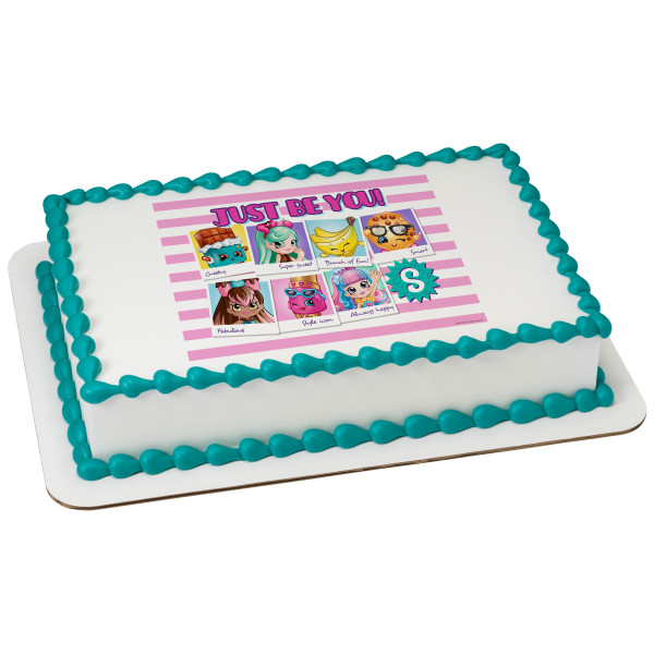 Shopkins™ Just Be You! PhotoCake® Image