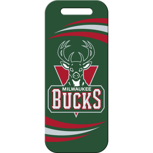 Milwaukee Bucks Large Luggage Quick-Tag 5 Pack