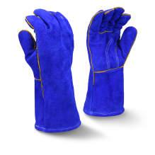 Radians RWG5210 Blue Regular Shoulder Split Leather Welding Glove