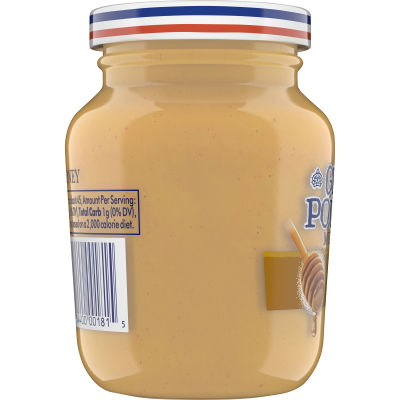 Grey Poupon Savory Honey Mustard 8 oz Jar
