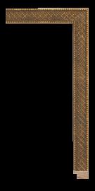 Allegra Antique Gold 1 1/8