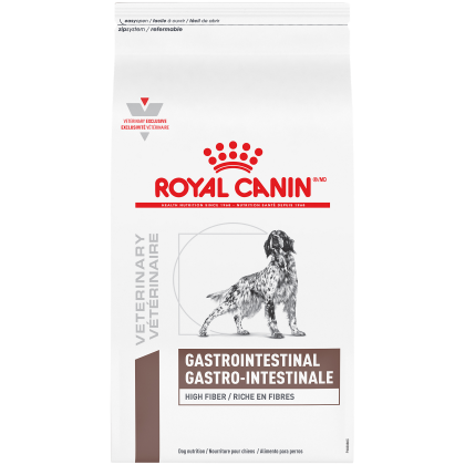 Royal Canin Veterinary Diet Canine Gastrointestinal High Fiber Dry Dog Food