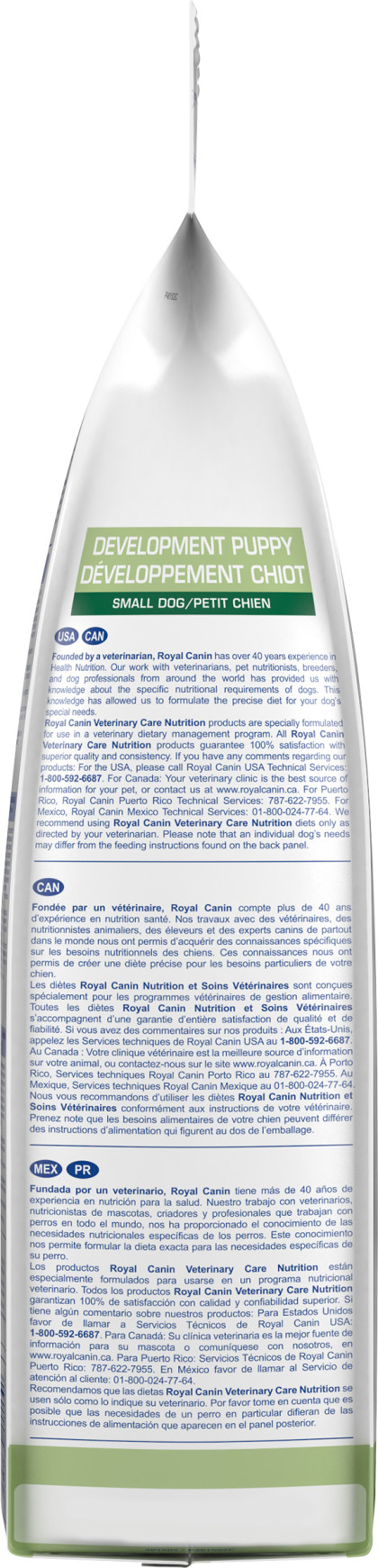 Royal Canin Veterinary Diet Canine Development Puppy Small Dog Dry Dog Food