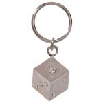 Jeweled Dice Key Chain
