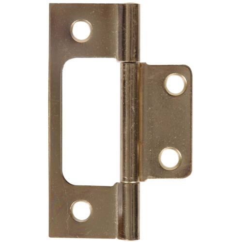 Hardware Essentials Satin Brass Surface Mount Non Mortise 3