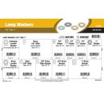"""Lamp Washers Assortment (5/8"""" thru 1"""")"""