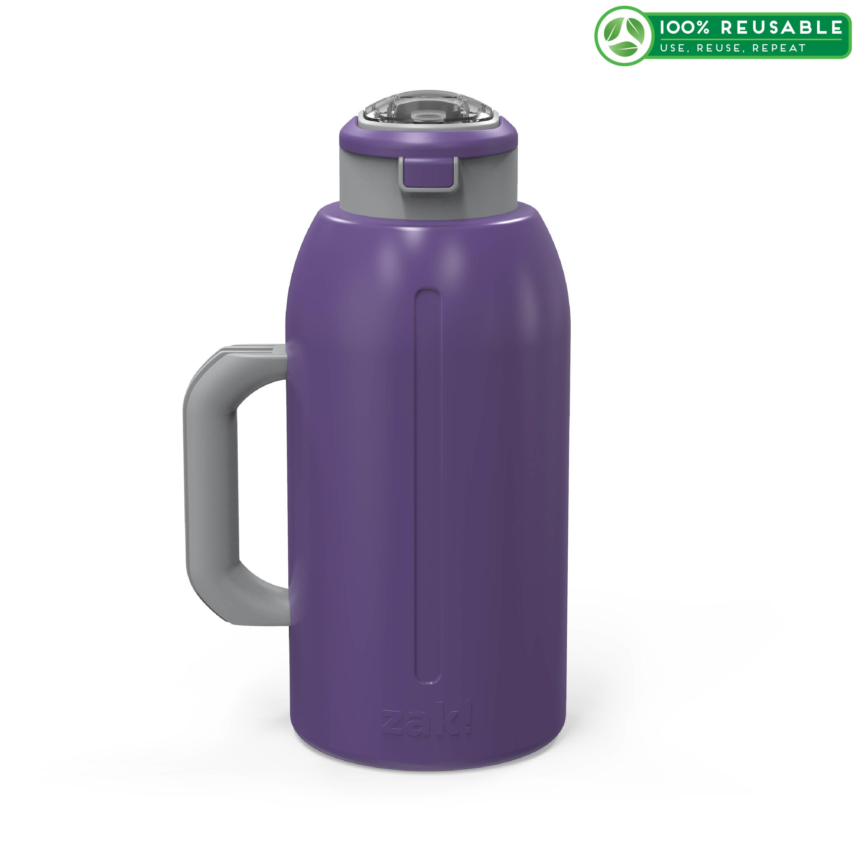 Genesis 64 ounce Stainless Steel Water Bottles, Viola slideshow image 1
