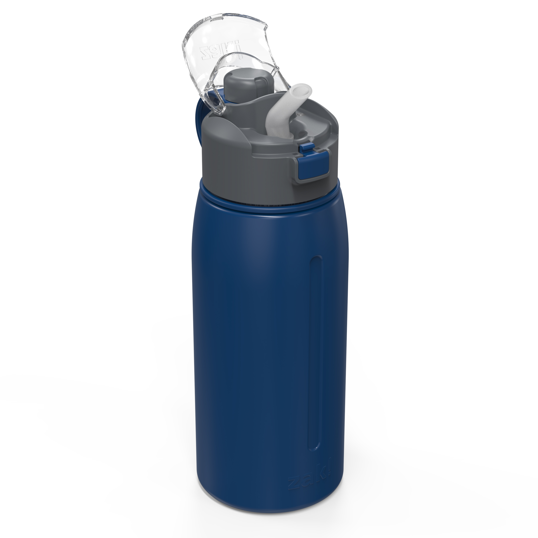 Genesis 24 ounce Vacuum Insulated Stainless Steel Tumbler, Indigo slideshow image 3