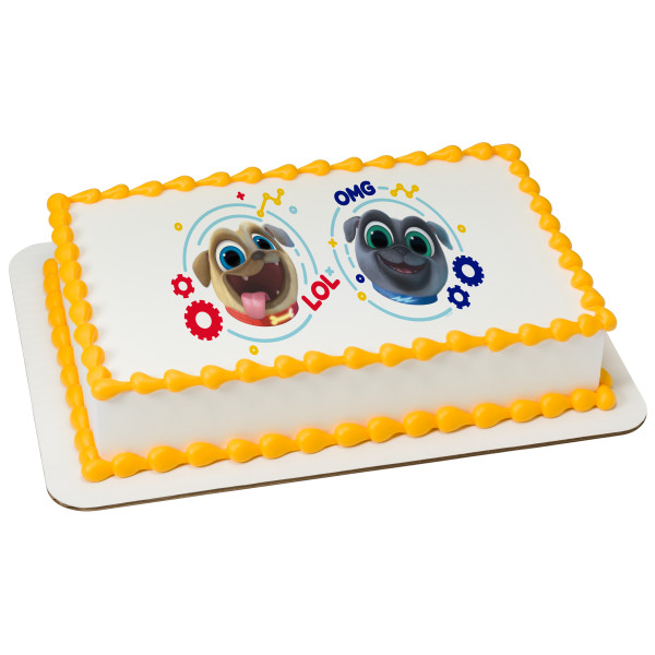 Puppy Dog Pals Bingo and Rolly PhotoCake® Edible Image®