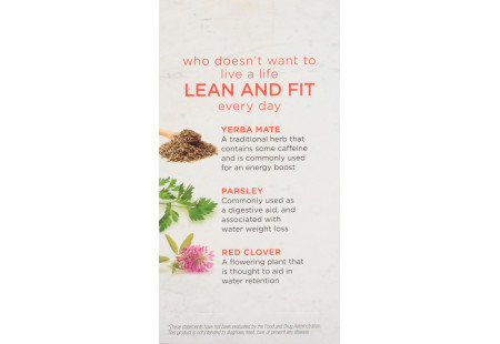 Front of Bigelow Benefits Citrus and Oolong Tea box