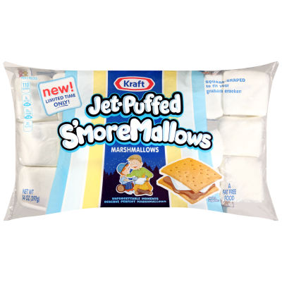 JET-PUFFED S'moreMallows Marshmallows 14oz Bag