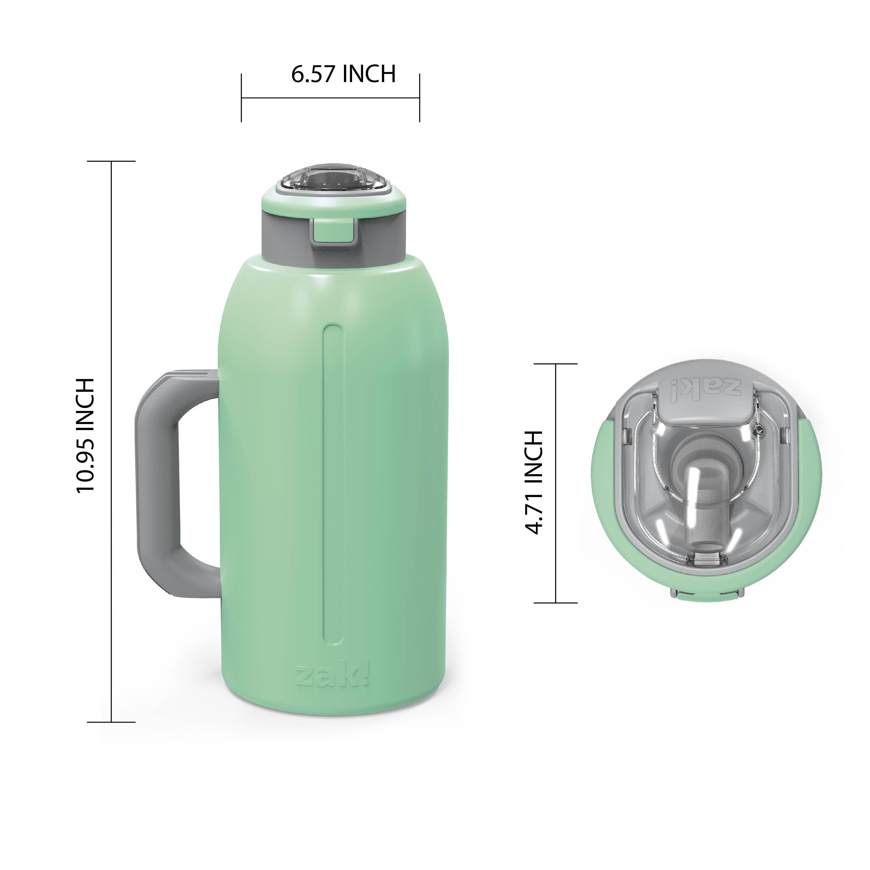 Genesis 64 ounce Stainless Steel Water Bottles, Neo Mint slideshow image 8