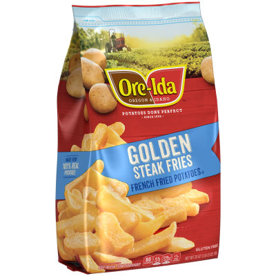 Ore-Ida Steak Fries Thick-Cut French Fried Potatoes 28 oz Bag
